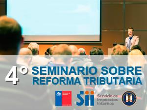 Seminarios sobre Reforma Tributaria