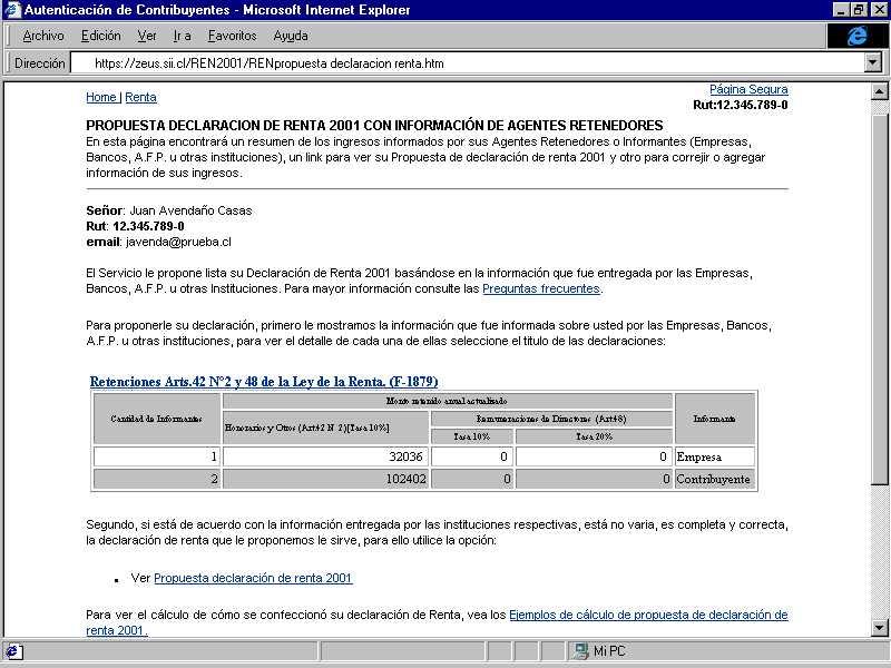 formulario declaracion de renta f22 siicl presentacion de ... - photo#4