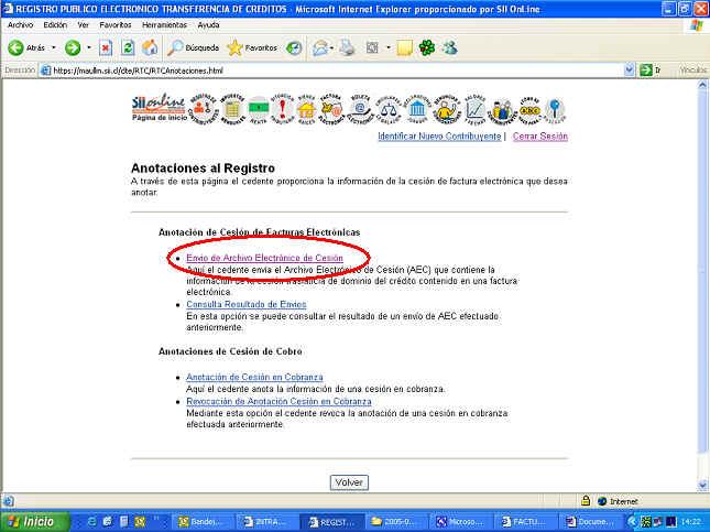 GUIA PASO A PASO PARA REALIZAR LA CESION DE UNA FACTUR@ ELECTRONICA ...